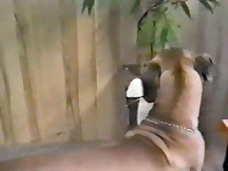 Blonde Milf Loves Her Dog