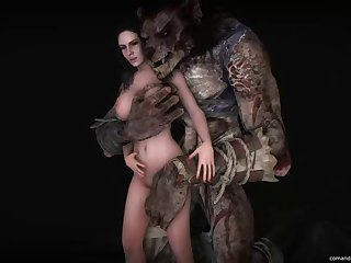 3d Animated Source Filmmaker The Witcher The Witcher 3 Wild Hunt Yennefer Comandorekinsfm