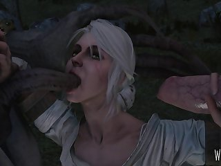 Ciri Blowing A Monster While Jerking Off A Werewolf Cock. Another Angle In Comments. [witcher 3] (weebstank)[multiple]3D Bestiality